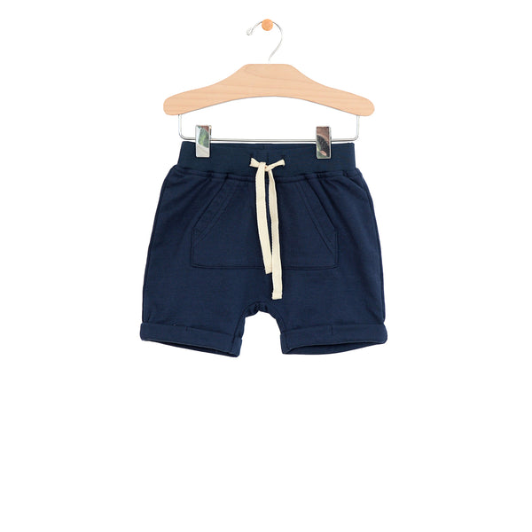 Kangaroo Pocket Short - Midnight Blue