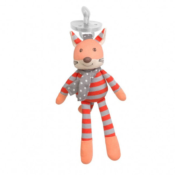 Organic Pacifier Toy - Frenchy the Fox