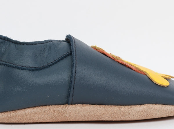 Soft Sole - Navy Tiger