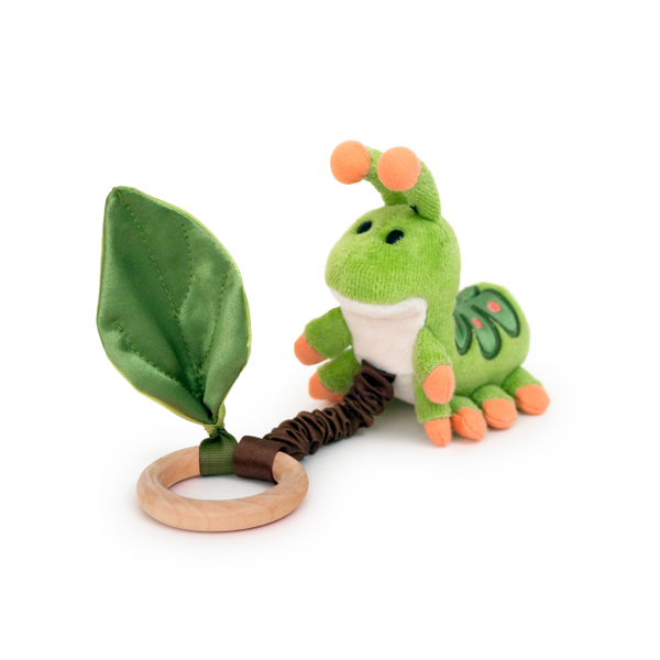 Organic Crawling Teething Toy - Caterpillar