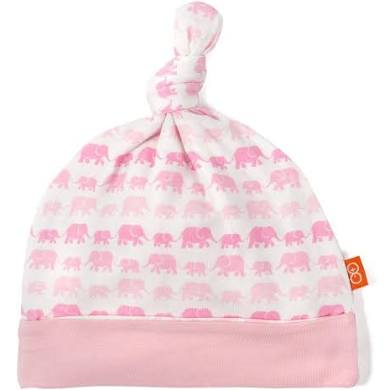 Modal Hat - Pink Dancing Elephants