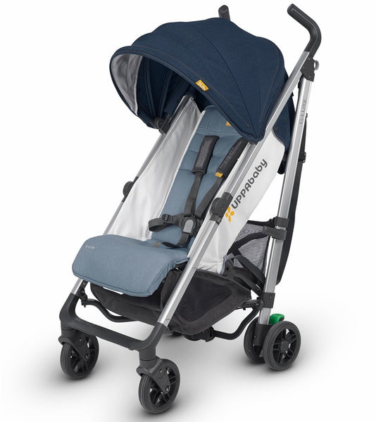 UPPAbaby G-Luxe Stroller - Aidan (Denim/Silver)