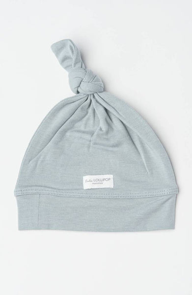 Copy of Top Knot Beanie - Slate