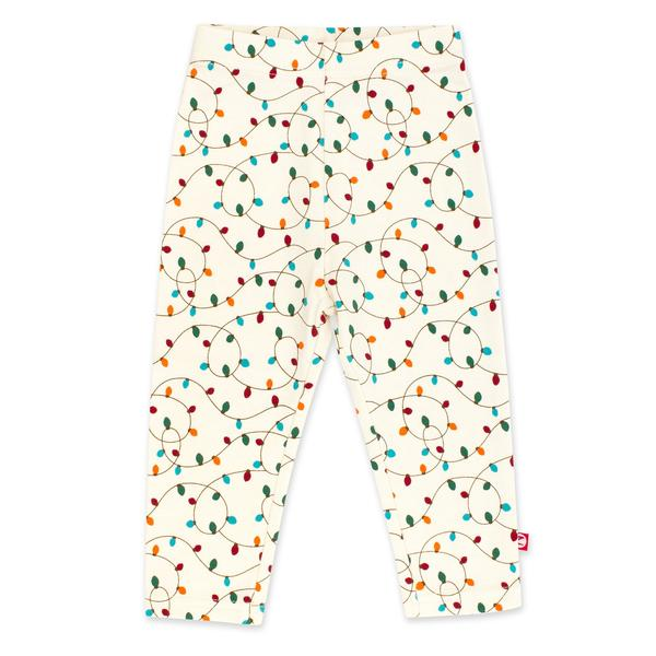 Organic Cotton Leggings - Holiday Lights