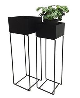 Large planter on stand