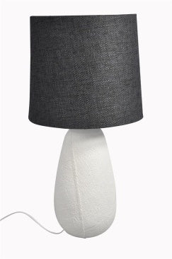 Oversized Black & White table lamp