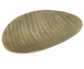 Brass Oval Platter - Large