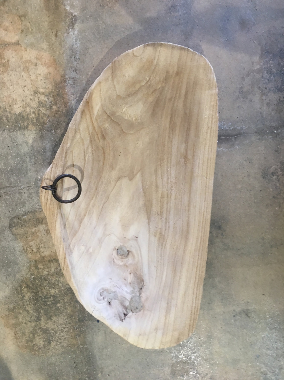 Wooden Scoop Bowl