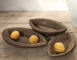 Wooden Eye Bowl - Medium