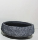 Charcoal Cement Bowl / Small
