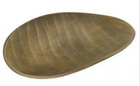 Brass Oval Platter - Medium