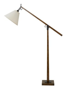 Timber Floor Lamp