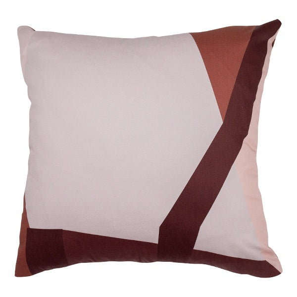 Abstract Print Cushion