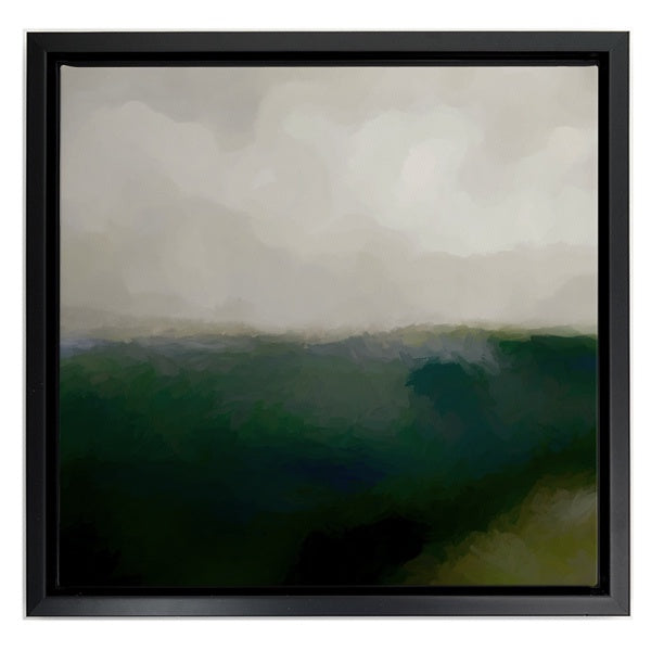 Abstract Green Landscape
