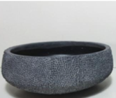 Charcoal Cement Bowl / Large
