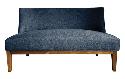 City Ink Blue Sofa