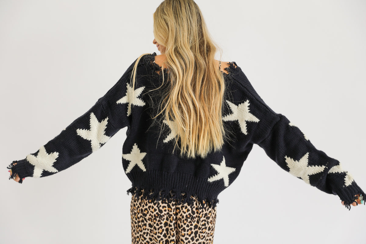 Star Crossed Lovers Sweater