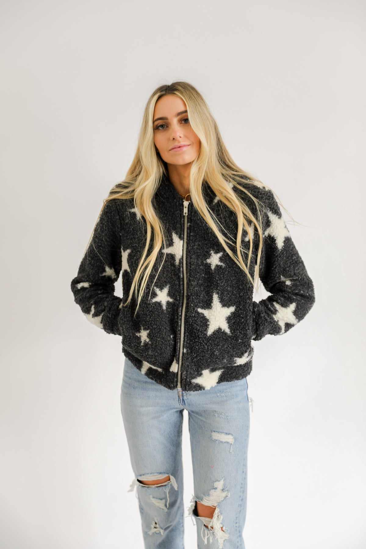 Written In The Stars Sherpa Jacket