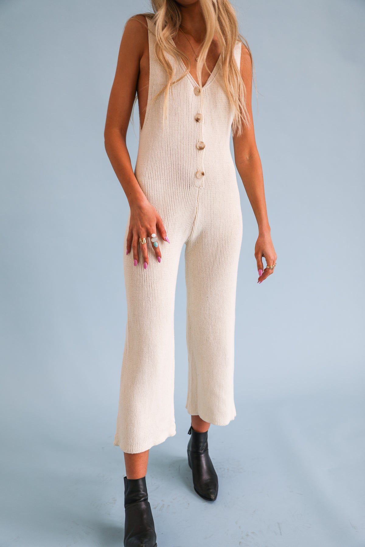 The Hamptons Knit Jumpsuit