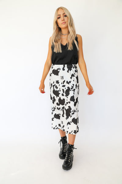 Got Milk Midi Skirt