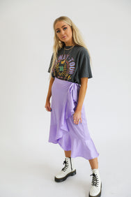 Neon Lights Midi Skirt