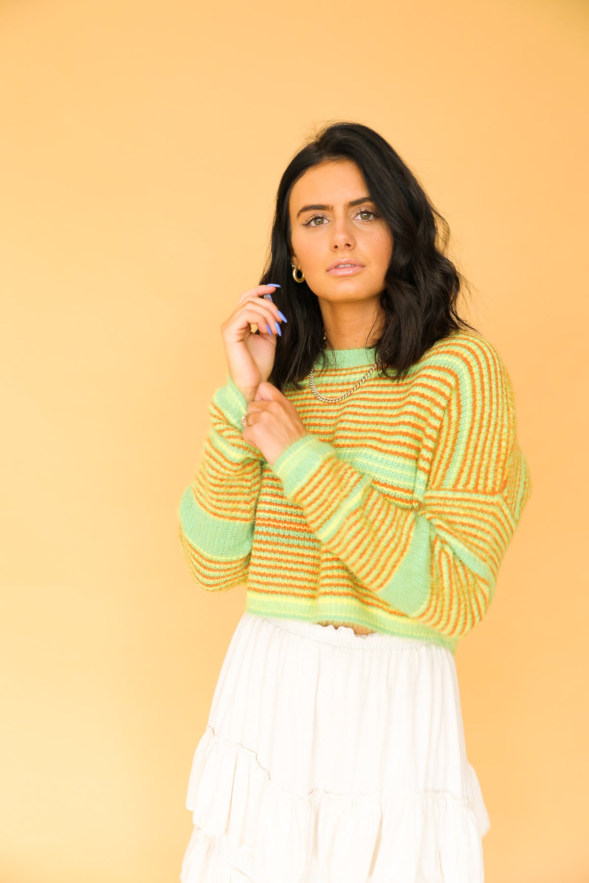 Crop It Like It's Hot Knit