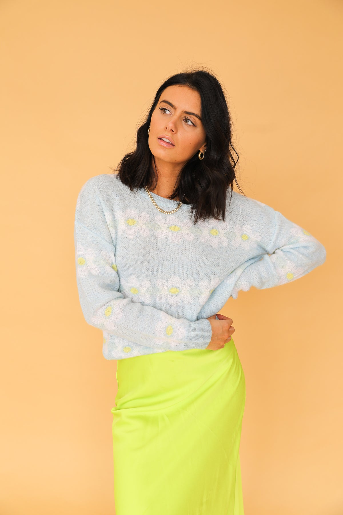 All Daisy Long Knit