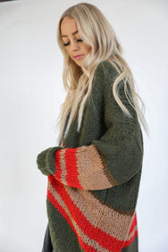 Knits Never Too Late Cardi