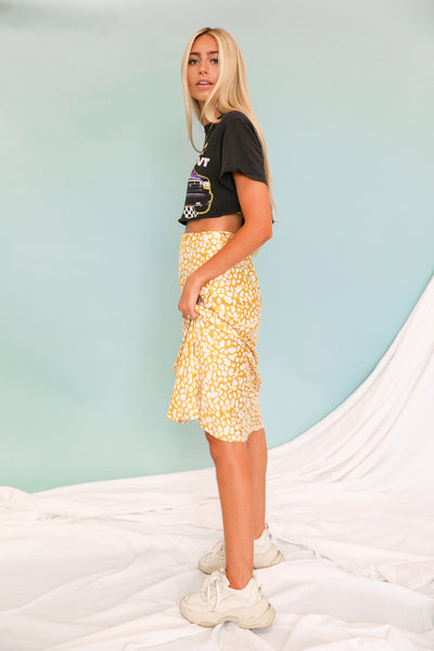 Stay Fierce Midi Skirt