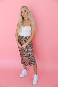 Easy Tiger Midi Skirt