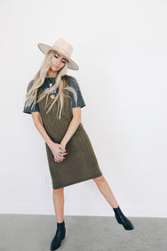 Knitty Gritty Sweater Dress