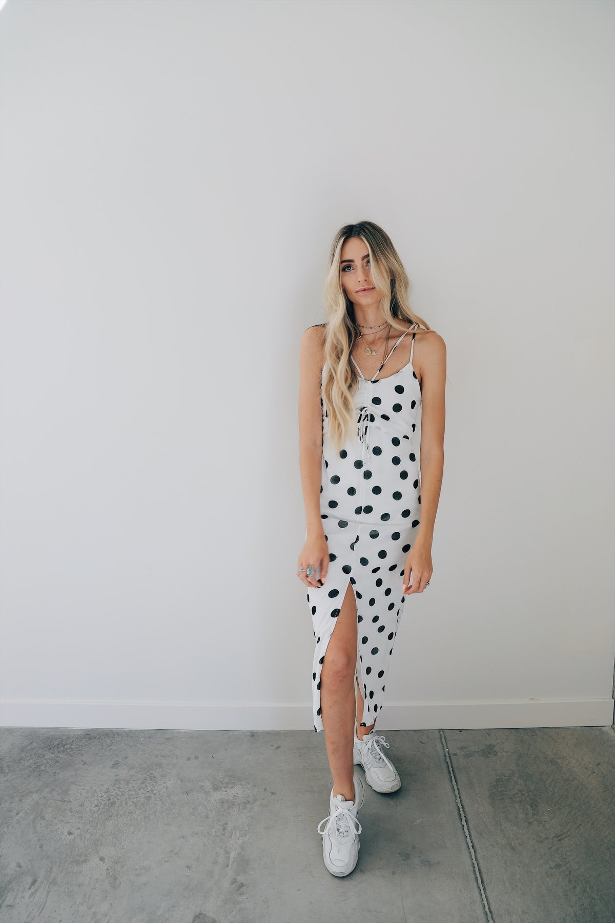 Dotted Up Dress