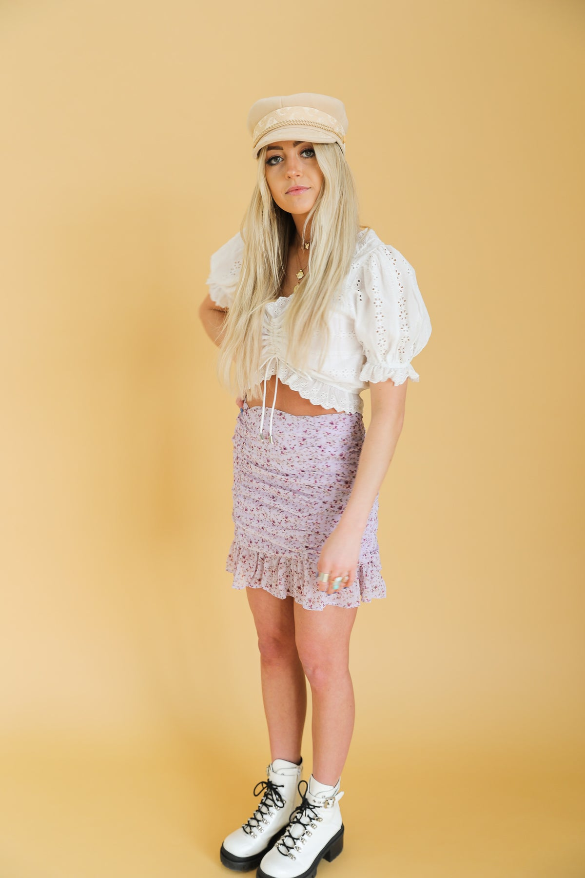 Delilah Mini Skirt