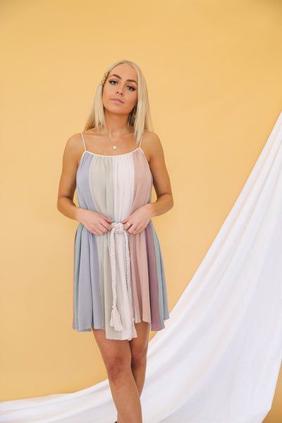 Sunrise To Sundown Mini Dress