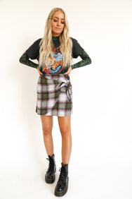 Plaid Girl Mini Skirt