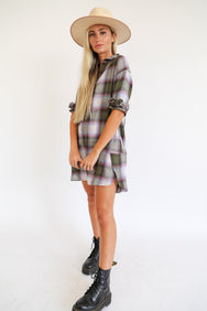 Plaid Girl Mini Dress