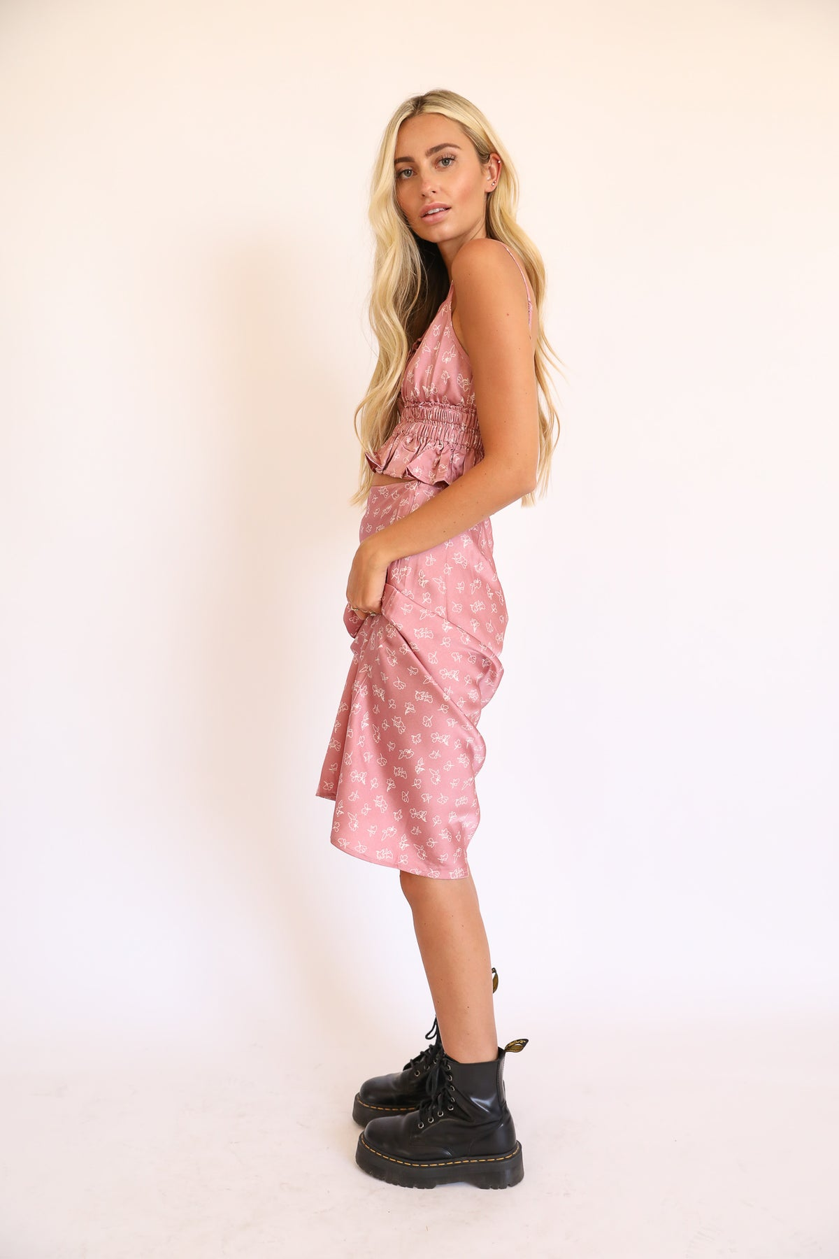 Crush And Blush Skirt