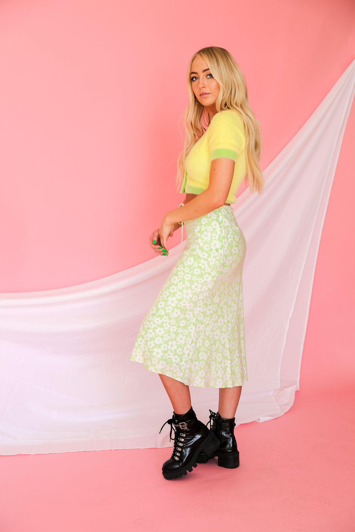 In A Daze Midi Skirt