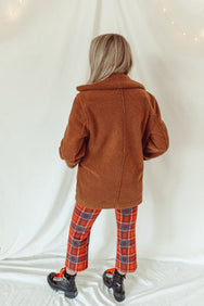 Chestnuts Roasting Reversible Coat