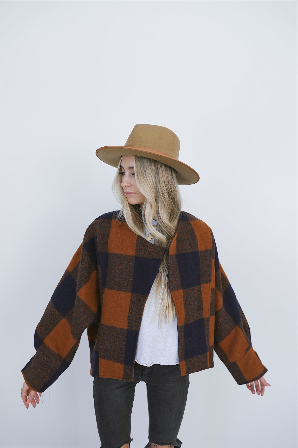 Plaid About You Jacket