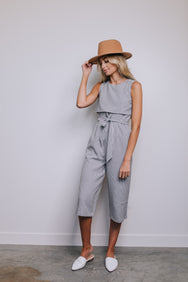 All In Tie Jumpsuit