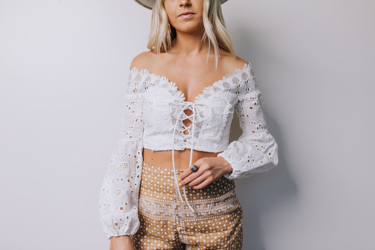 Lace Yourself Top