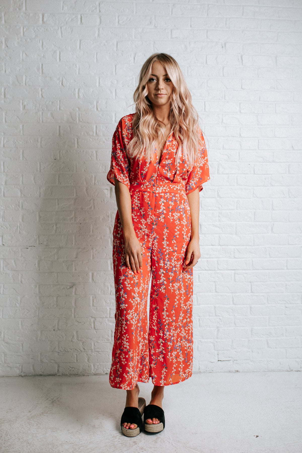 Bed Of Roses Jumpsuit
