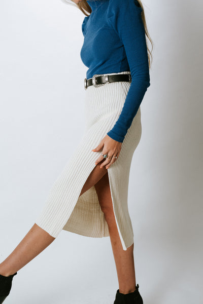Get It Right Knit Skirt