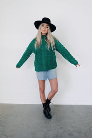 Emerald Dreams Sweater