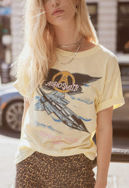 Aerosmith Summer Tour '85 Boyfriend Tee