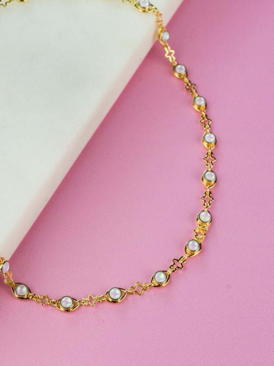 All Seeing Opal Choker Necklace