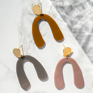 Mia Minimal Statement Earrings