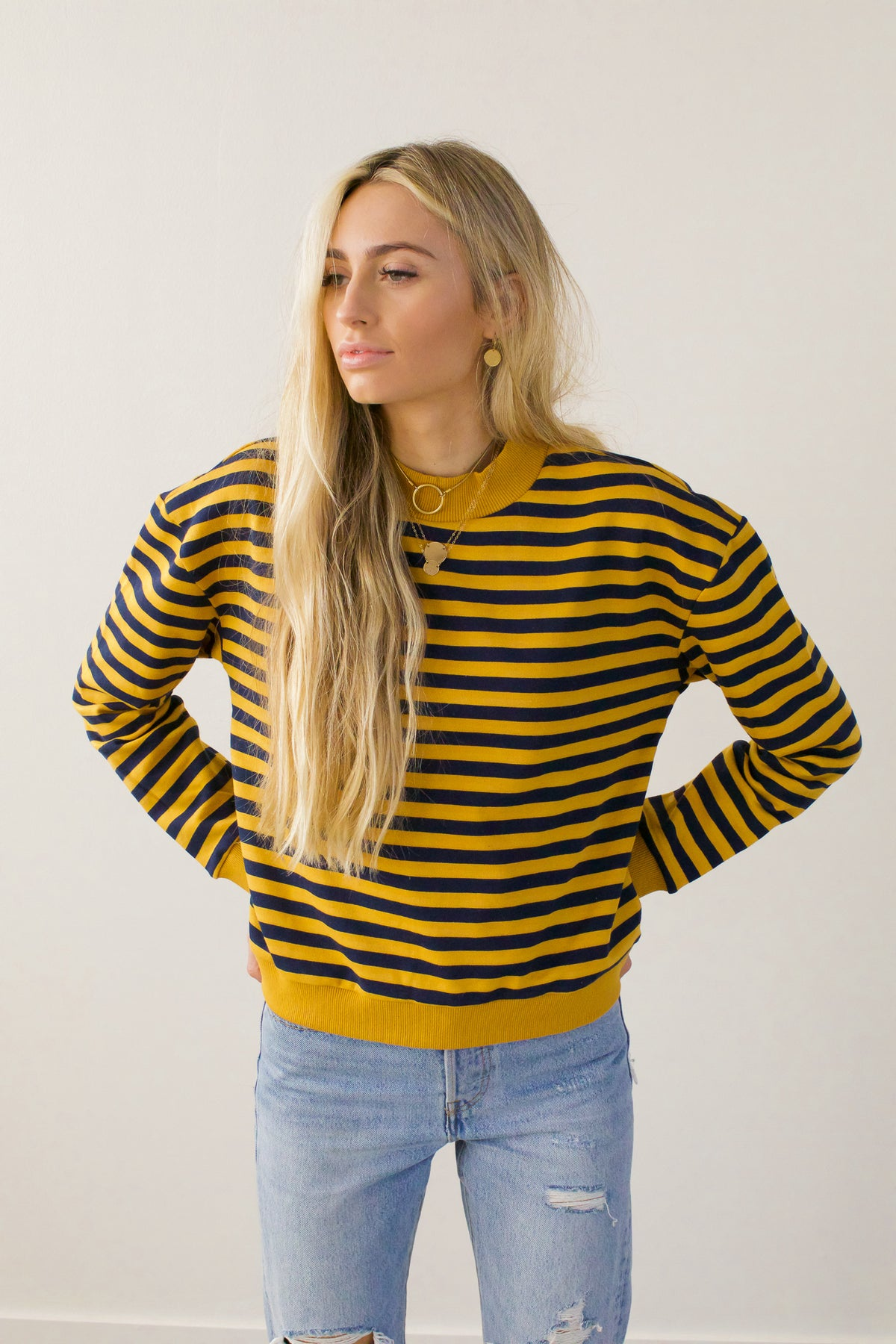Stripe This Way Top