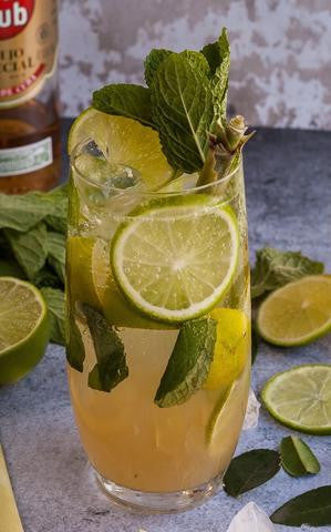 Lemon Grass & Ginger Mojito